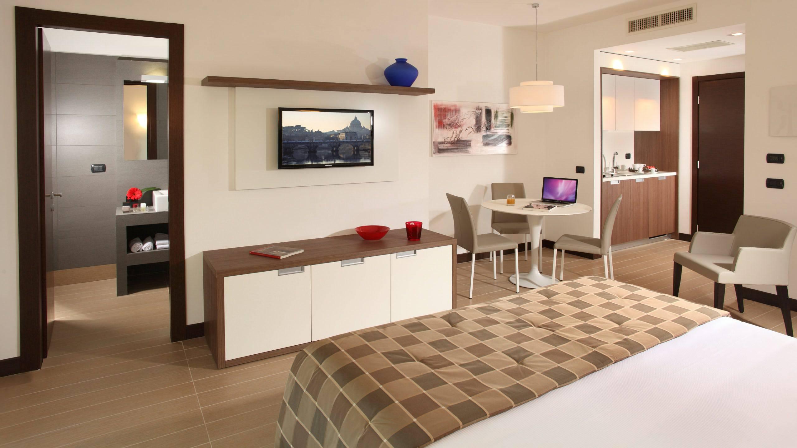 Residence hotel parioli roma camera deluxe for Camera roma