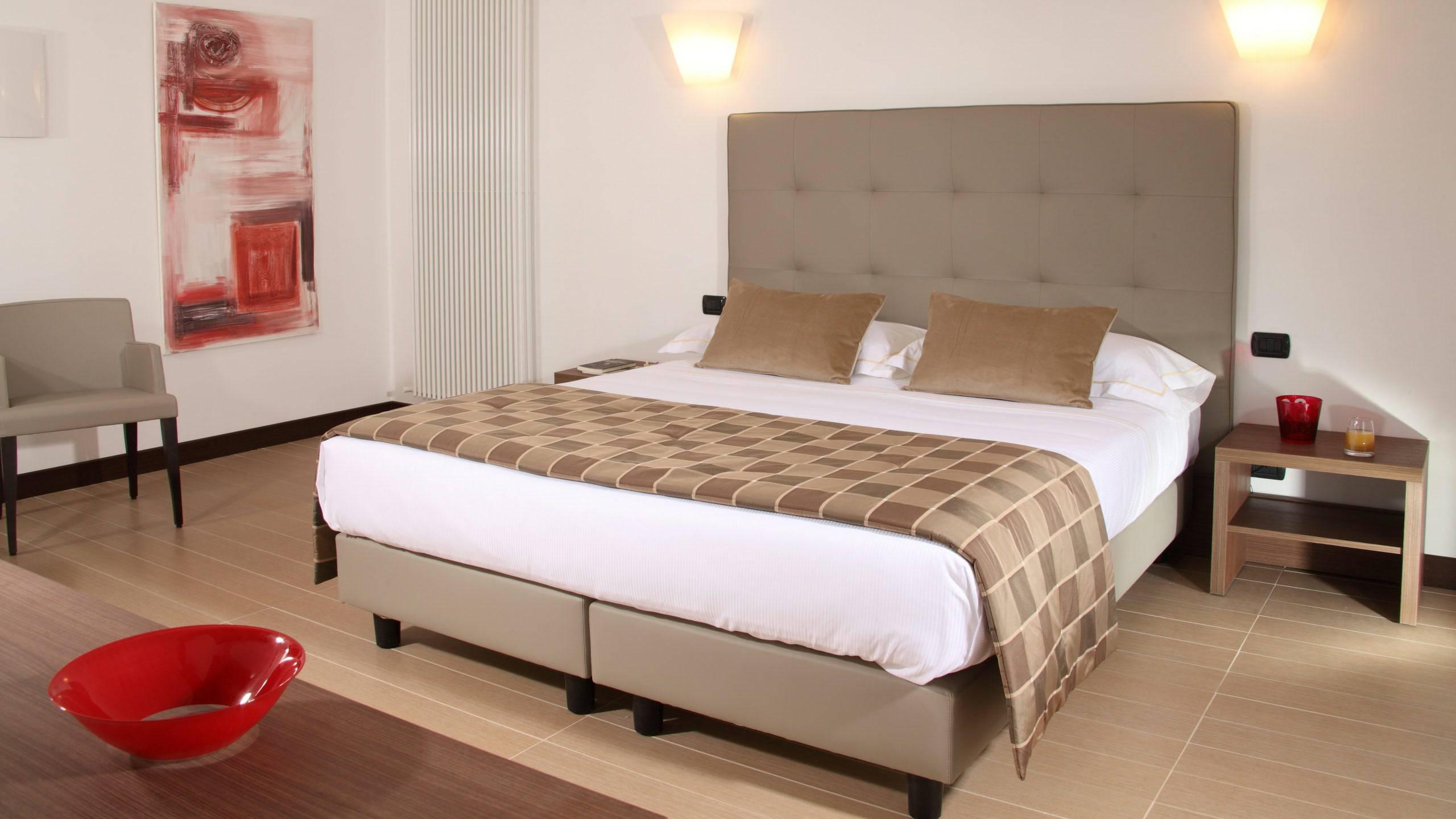 Residence hotel parioli roma camera standard for Camera roma