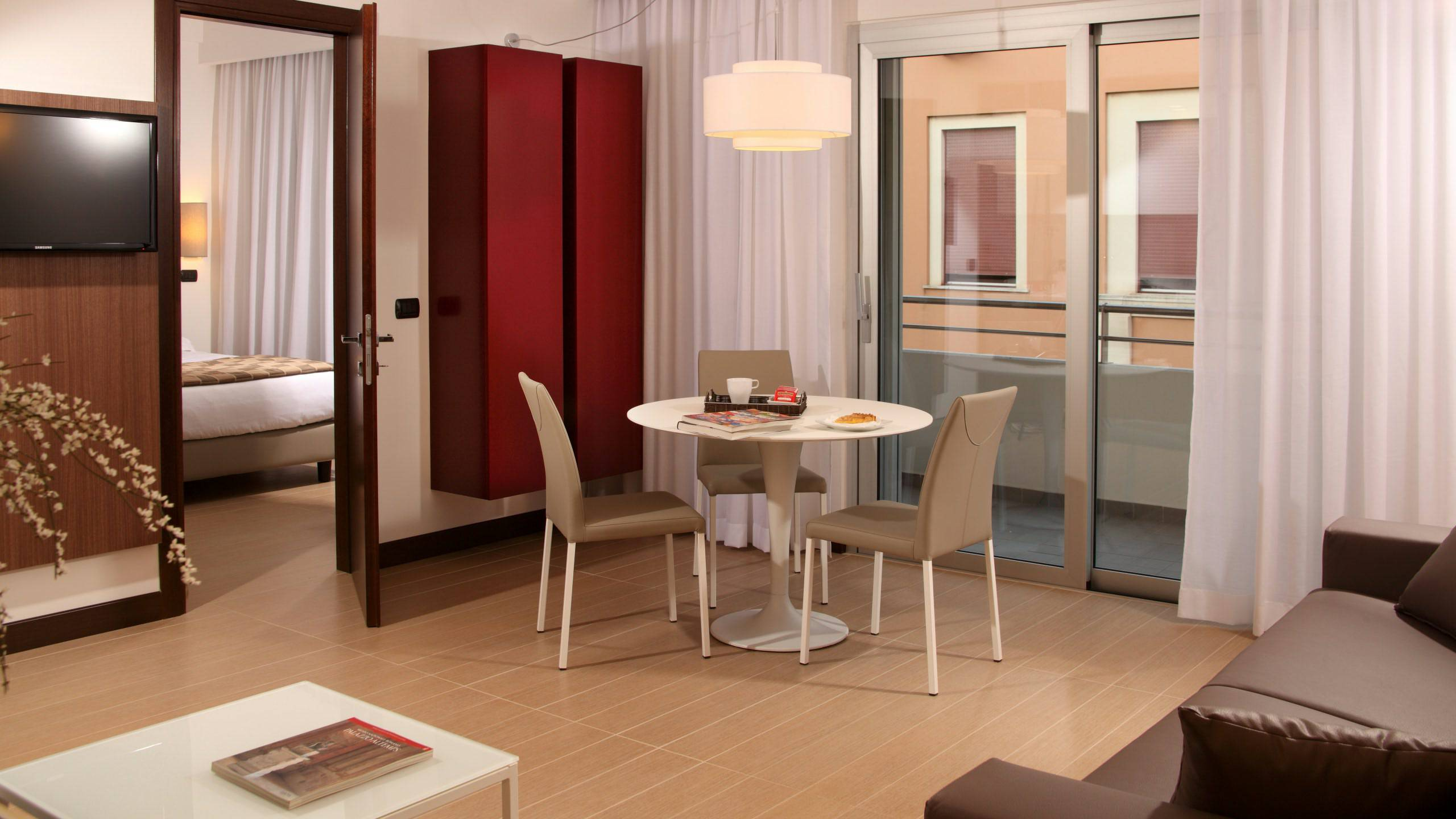 Residence hotel parioli roma le camere for Camera roma